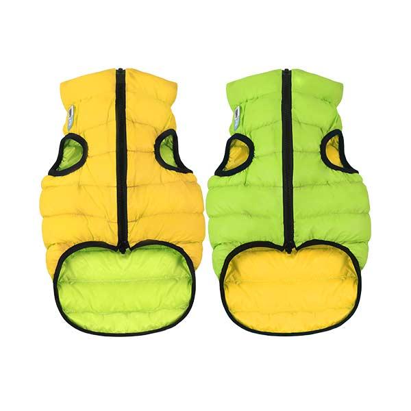 airvest reversivel verde amarelo