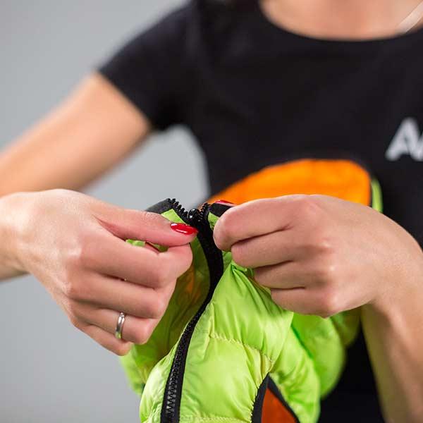 airvest reversivel verde laranja 1