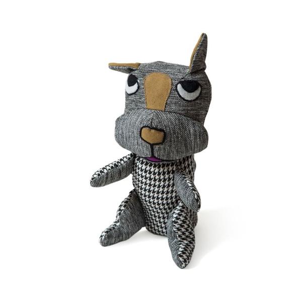 brinquedo reciclado de pano cao