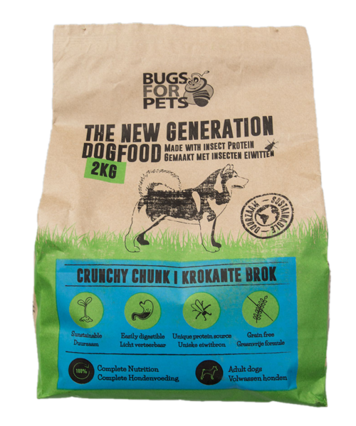 bugs for pets crunchy chunk 2Kg