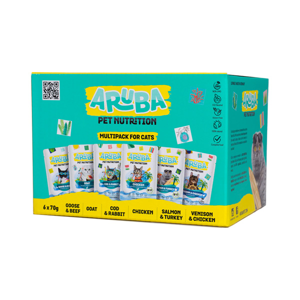 le cleps Aruba Multipack para Gatos frente