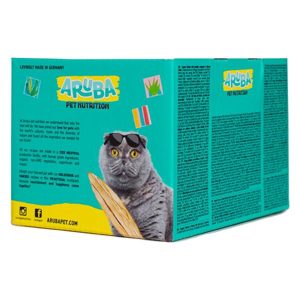 le cleps Aruba Multipack para Gatos tras