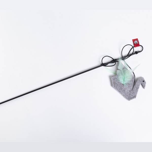 le cleps origami swan catnip 1