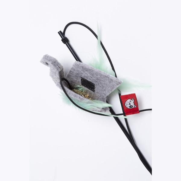 le cleps origami swan catnip 3
