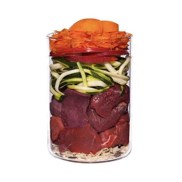 le cleps terra canis carne de vaca com cenoura maca e arroz integral 1