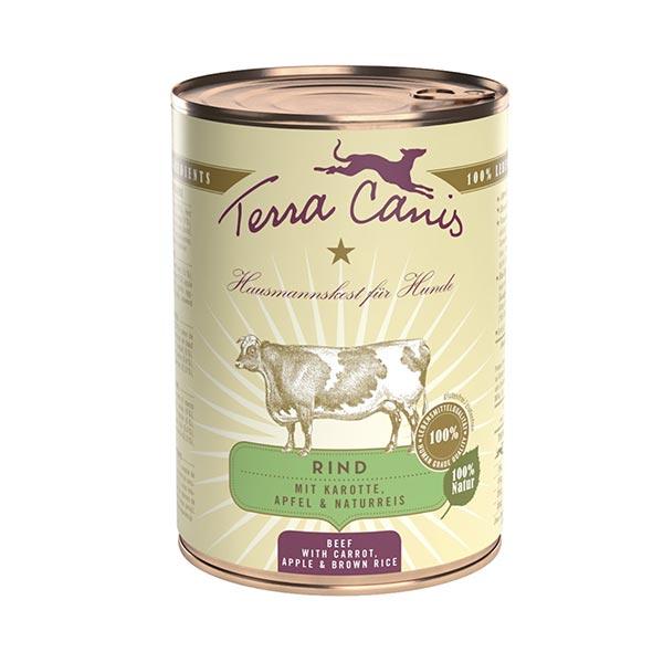 le cleps terra canis carne de vaca com cenoura maca e arroz integral