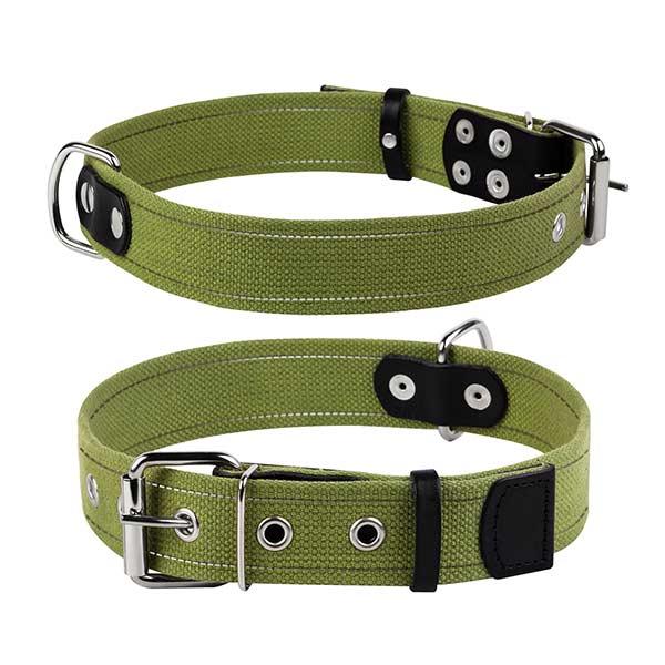 le cleps waudog collar verde
