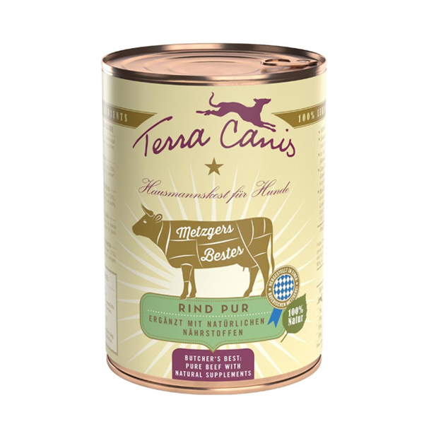 lecleps terra canis beef pure