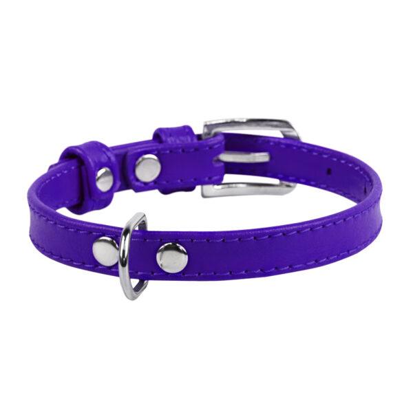lecleps trela waudog glamour without decoration purple 1