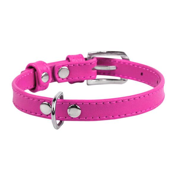 lecleps trela waudog glamour without decoration rosa 1