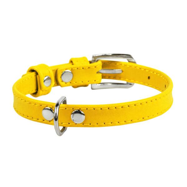 lecleps trela waudog glamour without decoration yellow 1