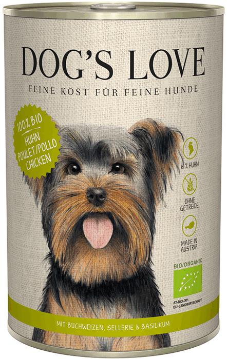 DOG'S LOVE - BIO FRANGO | ADULTO - Le Clep's