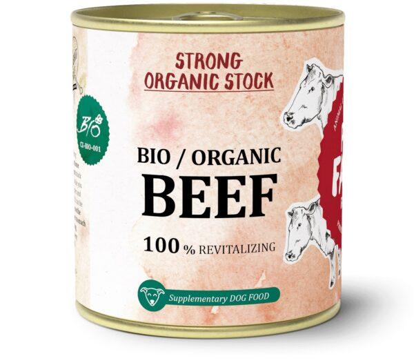 Caldo de Carne de VACA - BIO - 300ml - Le Clep's