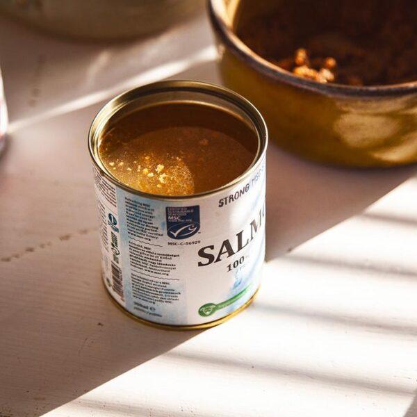 Caldo de carne de Salmão - 300ml - Le Clep's