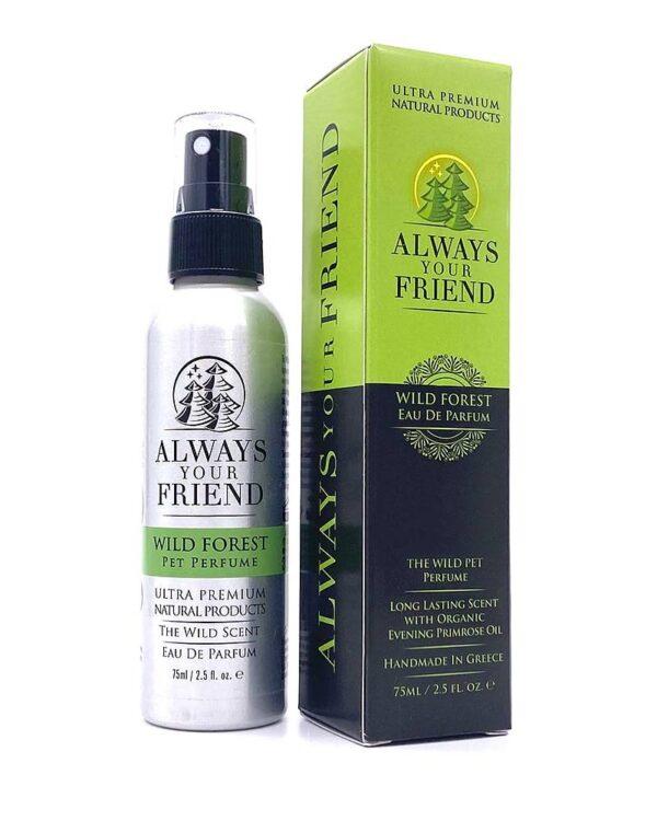 Always Your Friend | Wild Forrest Spray - Eau de Parfum -75 ml - Le Clep's